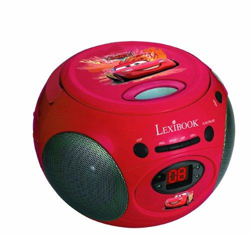 Lexibook RCD102D Exclusivo Radio CD Disney Cars