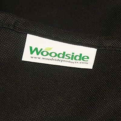 Woodside - Aufbewahrungstasche für Gartenmöbelauflagen - Strapazierfähig & Wasserdicht - Schwarz von Woodside auf Gartenmöbel von Du und Dein Garten