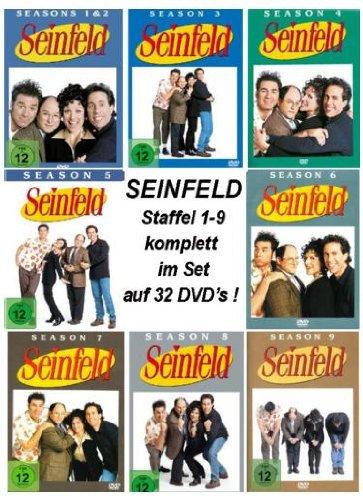 Seinfeld - Season/Staffel 1-9 Komplett - Set [32DVDs] hier kaufen