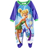 "Disney Fairies Tinkerbell ""Snow Pixie"" Purple Blanket Sleeper 12M-24M (24M)"