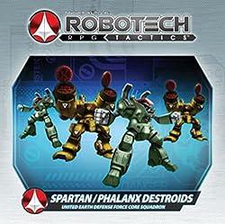 Uedf Spartan/Phalanx Destroids Board Game