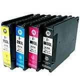 EPSON(エプソン) 高品質 純正互換インクカートリッジ IC4CL93L(顔料) 4色セット 残量表示機能付 Angelshopオリジナル