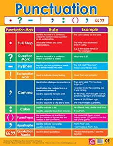 Punctuation Chart School Poster Amazon Co Uk Office Products