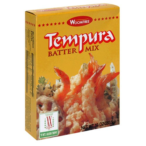 Buy Woomtree Tempura Batter Mix, 10 Ounce Package (Pack of 12) (Woomtree, Health & Personal Care, Products, Food & Snacks, Baking Supplies, Baking Mixes)