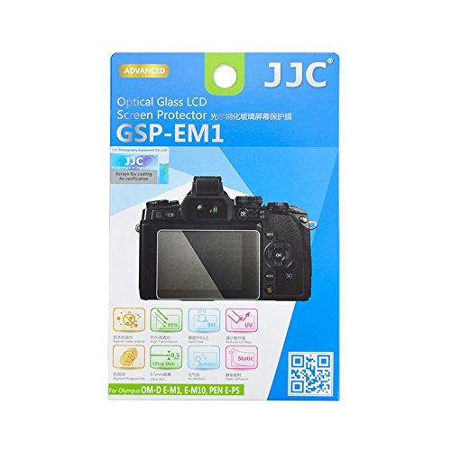 JJC GSP-EM1 d'écran LCD verre de protection pour Olympus OM-D E-M1, E-M10