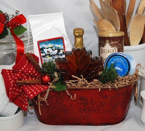 Christmas Morn Breakfast Gift Basket