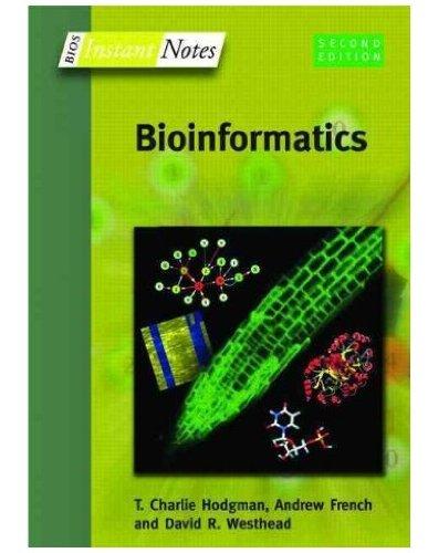 Instant Notes in Bioinformatics