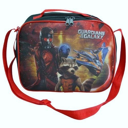 1 X Guardians of the Galaxy Rectangle Lunch Bag with Strap