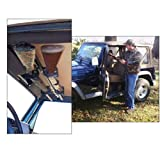 """Great Day Quick-Draw Overhead Gun Rack for JEEP ( 42""""-48"""" rollbar width)"""