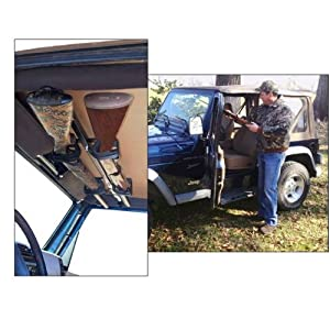 Great Day Quick Draw Overhead Jeep Gun Rack by Great Day