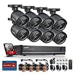 Sannce 8CH 960H CCTV DVR Security Cam...