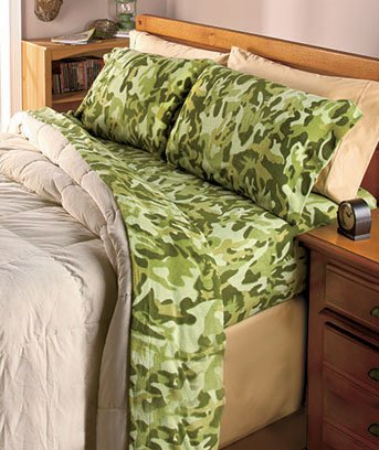 Pink Camo Bedding Twin 6232 front