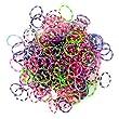 Jacks - Loom Bands - Recharge 250 Elastiques � Tisser � Pois
