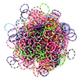 Jacks Loop & Loom gepunktete Loopies - Nachfüllpackung 250 Stk. Loom Bänder [UK Import]