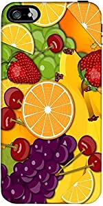 Snoogg Fruity 2428 Designer Protective Back Case Cover Forforapple Iphone 5C ...