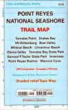 Trail map of Point Reyes National Seashore: Waterproof, synthetic paper (Tom Harrison Maps)