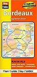 echange, troc Plans Blay Foldex - Plan de ville : Bordeaux (avec un index)