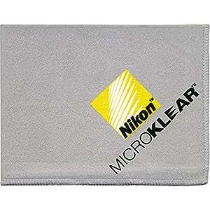 Nikon MicroKlear Microfiber Cleaning Cloth for D4, D800, D7000, D5100, D5000, D3200, D3100, D300s Digital SLR Cameras