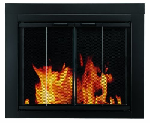 Cheap pleasant hearth at 1000 ascot fireplace glass for Cheap glass doors