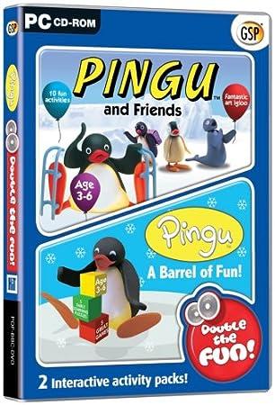 Pingu Double the Fun Pack: Pingu and Friends / Pingu A Barrel of Fun (PC)