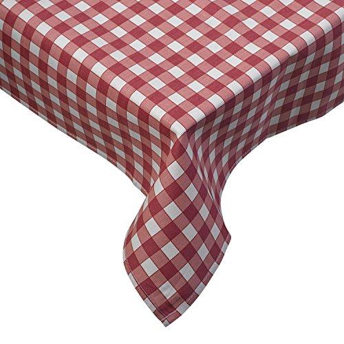 100% cotone a quadretti Tovaglia biancheria da tavola Cucina Sala