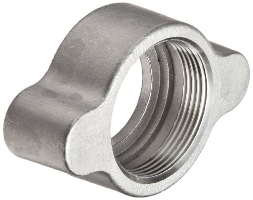 Dixon RB12 Stainless Steel Boss Fitting, Wing Nut for 3/4