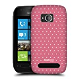 Head Case Designs Dots French Country Patterns Back Case For Nokia Lumia 710