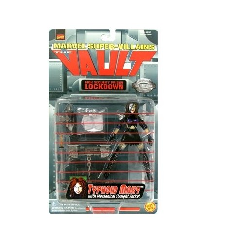 Marvel Super-Villains The Vault Typhoid Mary Action Figure