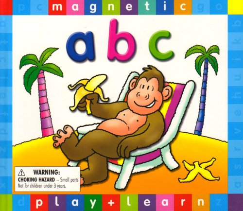 ABC - Magnetic Book (Magnetic Play & Learn)
