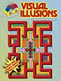 img - for 3-D Coloring Book - Visual Illusions (Dover 3-D Coloring Book) book / textbook / text book