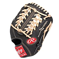 Buy Rawlings Heart of the Hide Dual Core 11.5-Inch Infield Baseball Glove (PRO204DCC) by Rawlings