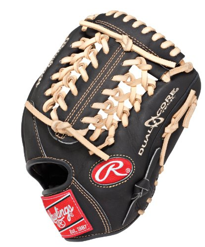 Rawlings Heart of the Hide Dual Core 11.5-inch Infield Baseball Glove, Left-Hand Throw (PRO204DCC) (Heart Of The Hide Pitchers compare prices)