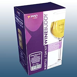 Home Brew & Wine Making - Winebuddy 30 Bottle White Wine Refill - Chardonnay Ingredient Kit