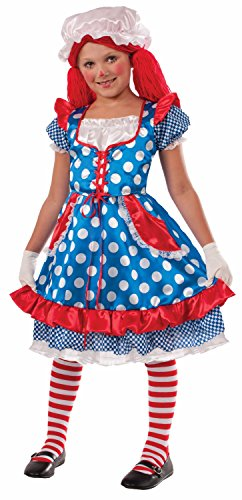 Forum Novelties Rag Doll Girl Costume, Medium