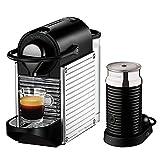 Krups Nespresso Pixie Stainless Steel with Aeroccino 3