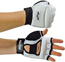 KWON WTF - Guantes de taekwondo blanco blanco Talla:XXS