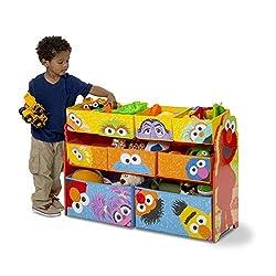 Delta Children Sesame Street Toy Organizer