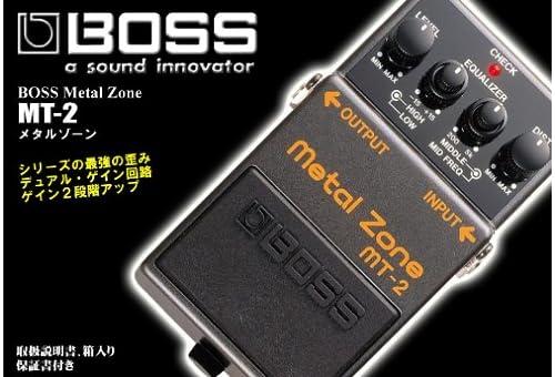 BOSS ( ボス ) MT-2 Metal Zone メタルゾーン・ディストーション