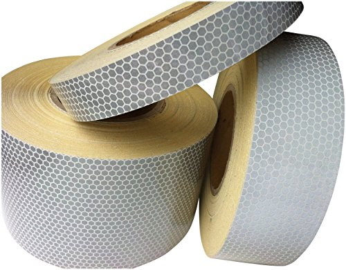 Hi Viz High Intensity White Reflective Tape 25mm x 3m