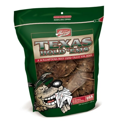 Merrick Dog Treats Texas Hold Ems Beef