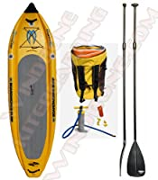 "Boardworks Badfish MCIT 11' 6"" Inflatable Stand-Up Paddle Board -Bundled with FREE Adjustable SUP Paddle by Boardworks"