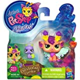 Littlest Pet Shop Fairies Glistening Garden Enchanted Figure Honeysuckle Fairy With Snail