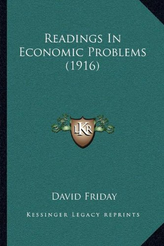 Readings in Economic Problems (1916)
