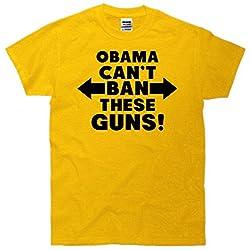 Obama Can't Ban These Guns T-Shirt