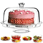 Multifunctional 6 in 1 Cake Stand and...