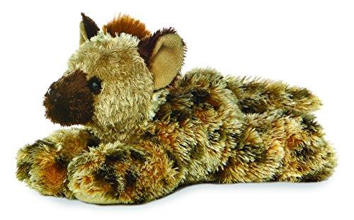 """Aurora Hyena 8"""" Mini Flopsie Plush. - 1"""