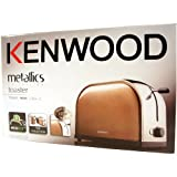 Kenwood TTM107 Metallic Antique Bronze Finish 2 Slice Toaster