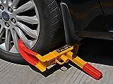 "FDS Anti Theft Heavy Duty Claw Wheel Lock Clamp Boot Car/Van/Caravan/Trailer 7 to 11"" Tires"