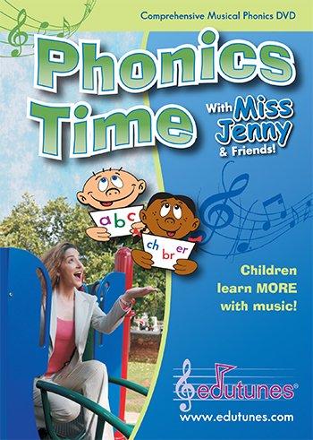 Miss Jennys Phonics Time Dvd; No. Et-35
