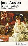 Orgueil et pr�jug�s  par Austen